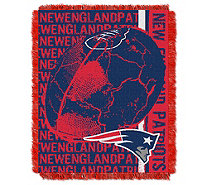 NFL Woven Jacquard Throw Double Play 46X60 - H290132