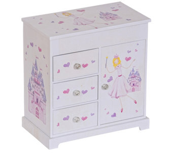 Mele & Co. Adalyn Girl's Musical Ballerina Jewelry Box - H290432