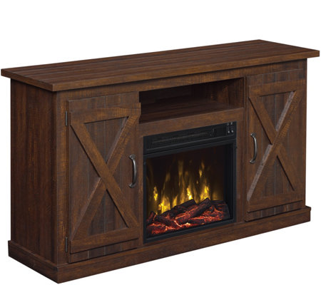 Classic Flame Cottonwood Fireplace TV Stand for  TVs up to 55""