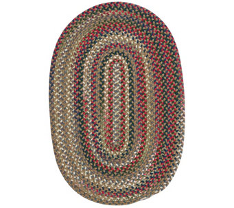 Chestnut Knoll 2' x 3' Oval Braided Rug by Colonial Mills - H130033