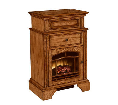 Mayflower Electric Fireplace w/Jewelry Box & Vanity