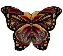 Royal Palace SE Butterfly Harmony 2.25' x 3' Wool Rug - H202333