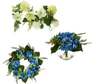 Hydrangea and Berry Floral Collection by Valerie