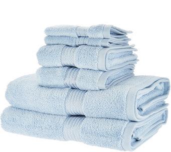 charisma classic 6 piece 100 cotton towel set h213033