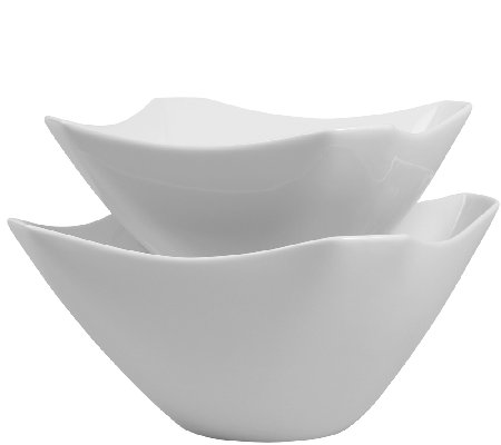 Denmark Tools for Cooks 2-Pc Cut-Corner SquareBowl Set