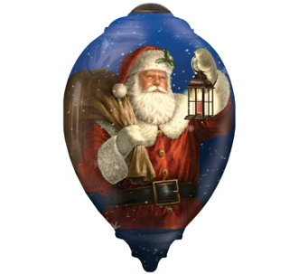 Limited Edition Dated 2016 Santa Ornament by Ne'Qwa - H289133