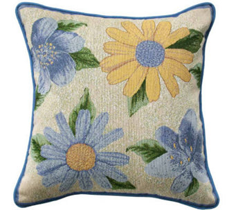 "Spring Bloom 18"" x 18"" Tapestry Decorative Pillow - H349333"