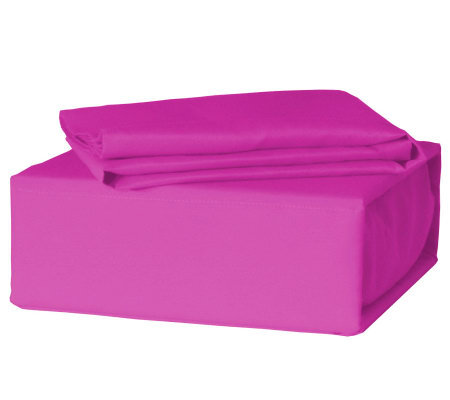 Veratex Pink Queen Sheet Set