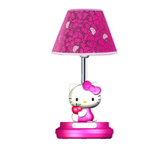 "Hello Kitty 16-1/2"" Magenta Table Lamp - H359033"