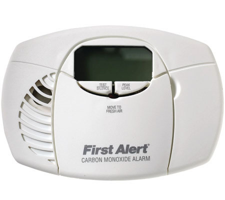 First Alert Battery Powered Carbon Monoxide Alarm Dig Display