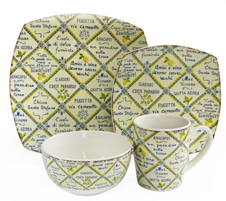 Piastrelle 16-Piece Dinnerware Set