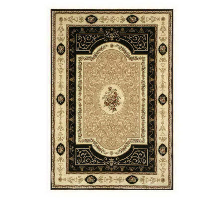 "Rugs America New Vision Aubusson 3'11"" x 5'3"" Rug"