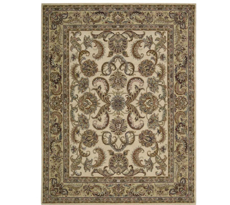"Nourison 8'0""x10'6"" Updated Persian Design HandtuftedWool Rug"