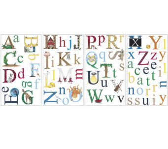 RoomMates Alphabet Peel & Stick Wall Decals - H186234