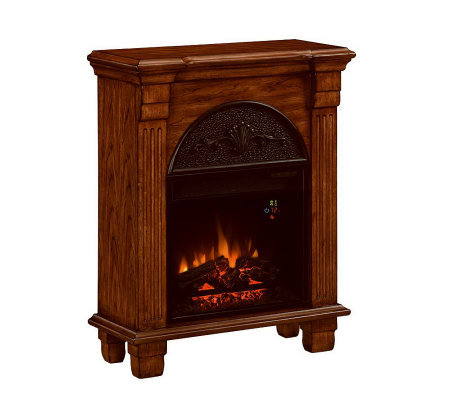 Regent Vent Free Electric Fireplace Side Table