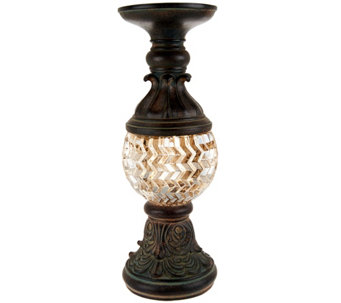 "13"" Pedestal with Illuminated Glass - H208034"