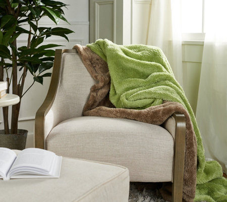 "Berkshire Blanket S/2 60"" x 70"" Super Soft Fluffie Throws"