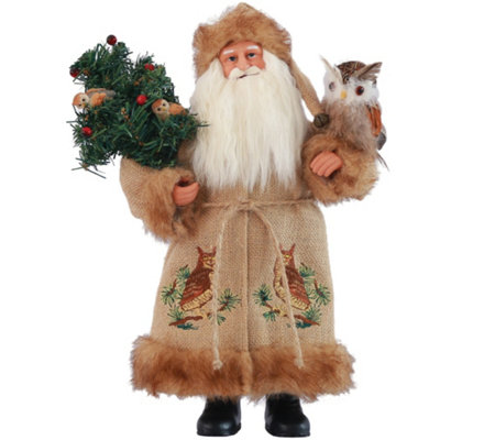 "15"" Night Watchman Santa by Santa's Workshop"
