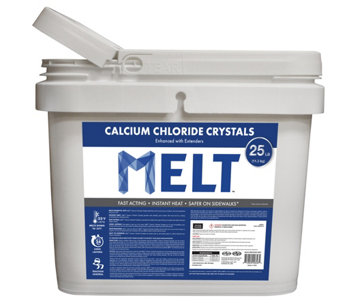 Snow Joe Melt 25-lb Calcium Chloride Crystals Ice Melter - H290434