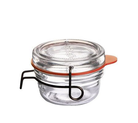 Luigi Bormioli Lock-Eat 2.75-oz Food Jars, Setof 6