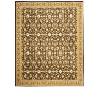 "Treasures Bordered Persian Power-Loomed 5'1"" x8' Rug - H361834"