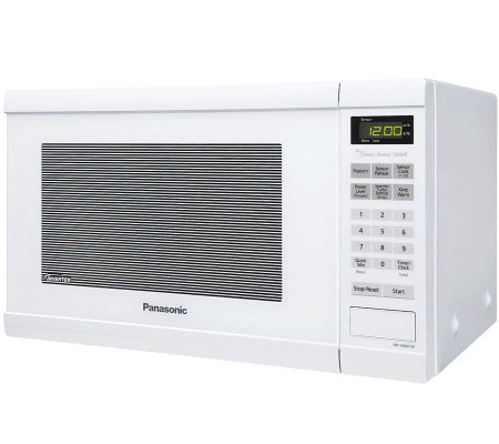 Panasonic 1.2 Cu. Ft. 1200W Countertop Microwave Oven - White