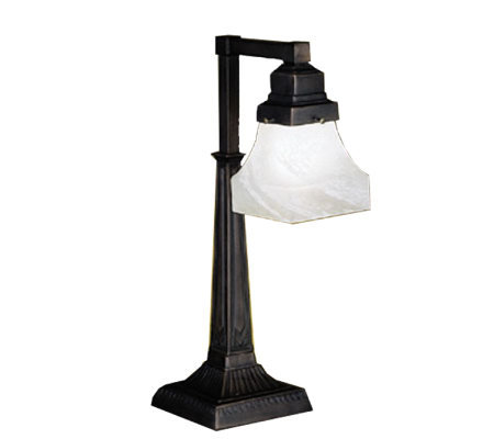Tiffany-Style Country Bungalow Desk Lamp