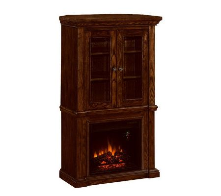 Summerville Vent Free Corner Hutch Electric Fireplace - Page 1 ...
