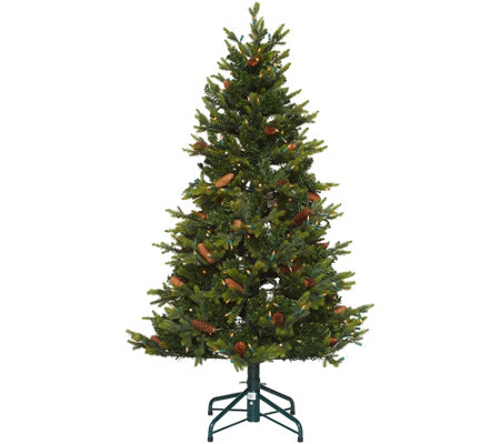 """As Is"" Bethlehem Lights 5' Heritage Spruce Christmas Tree"