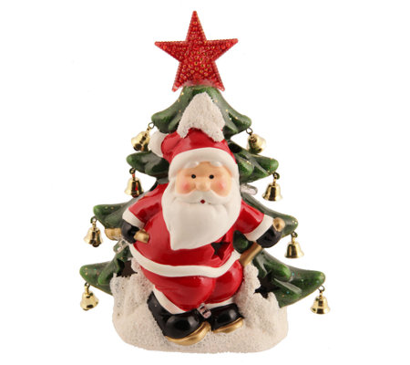 Holiday Arbor Illuminated Holiday Decor CeramicFigurine
