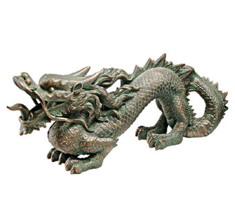 Design Toscano Asian Dragon of the Great Wall Statue - H283635