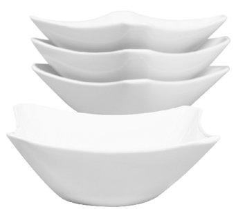 Denmark Tools for Cooks S/4 Cut-Corner Square Bowls - H284135
