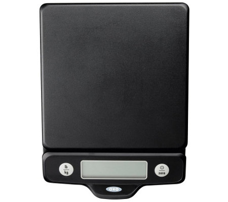 OXO Good Grips 5-lb Food Scale with Pull-Out Display - Black
