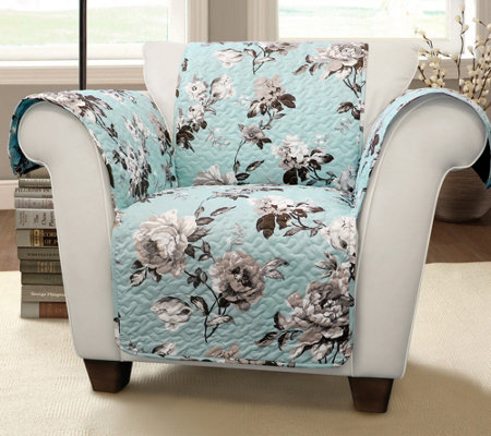 Tania Floral Armchair Furniture Protector by Lush Decor