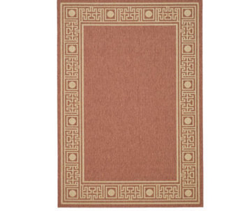 "Safavieh Courtyard Greek Revival 4' x 5'7"" Rug - H178936"