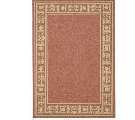 "Safavieh Courtyard Greek Revival 4' x 5'7"" Rug"