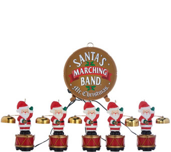 Mr. Christmas 25th Anniversary Santa's Marching Band - H208936