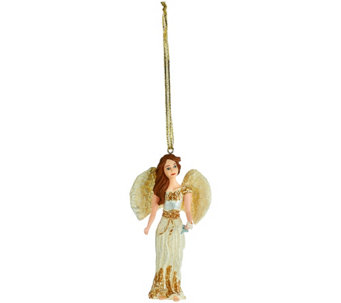 "My Good Angel Handcrafted 4"" Angel Figurine Ornament - H209236"
