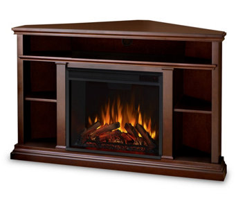 Real Flame Churchill Electric Fireplace and Ent ertainment Uni - H281236