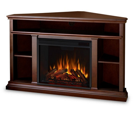 Real Flame Churchill Electric Fireplace and Entertainment Uni