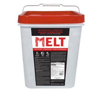 Snow Joe 25-lb Pro Strength Calcium Chloride Pe llet Ice Melt - H290436