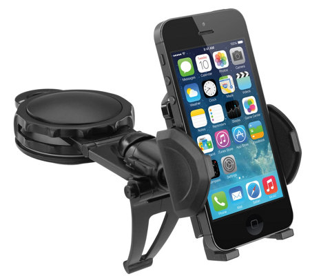 Fully Adjustable Car Dash Mount for Smartphone& GPS