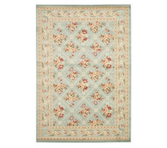 Lyndhurst Floral Lattice Power Loomed 8' x 11'Rug - H356836