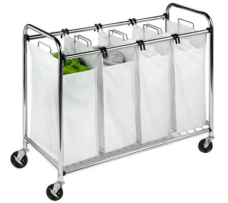 Honey-Can-Do Heavy-Duty Quad Chrome-Plated Sorter