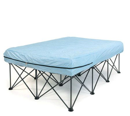 Queen Portable Bed Frame for AirFilled Mattresses with Bag Page