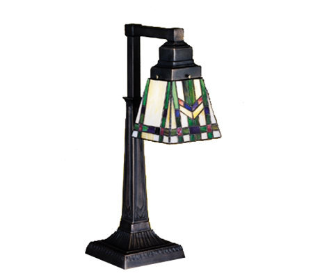 Tiffany-Style Prairie Wheat Desk Lamp