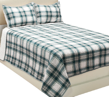 ED On Air Cotton Berber Reversible FL/Q Quilt Set by Ellen DeGeneres
