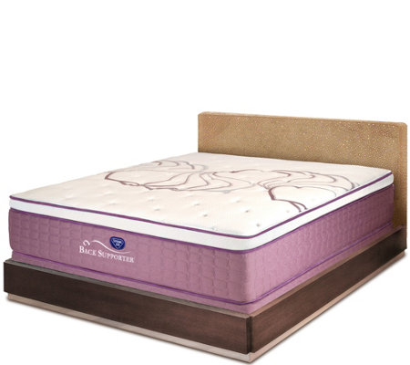 "Spring Air Sleep Sense 15.5"" Luxury Firm King Mattress Set"