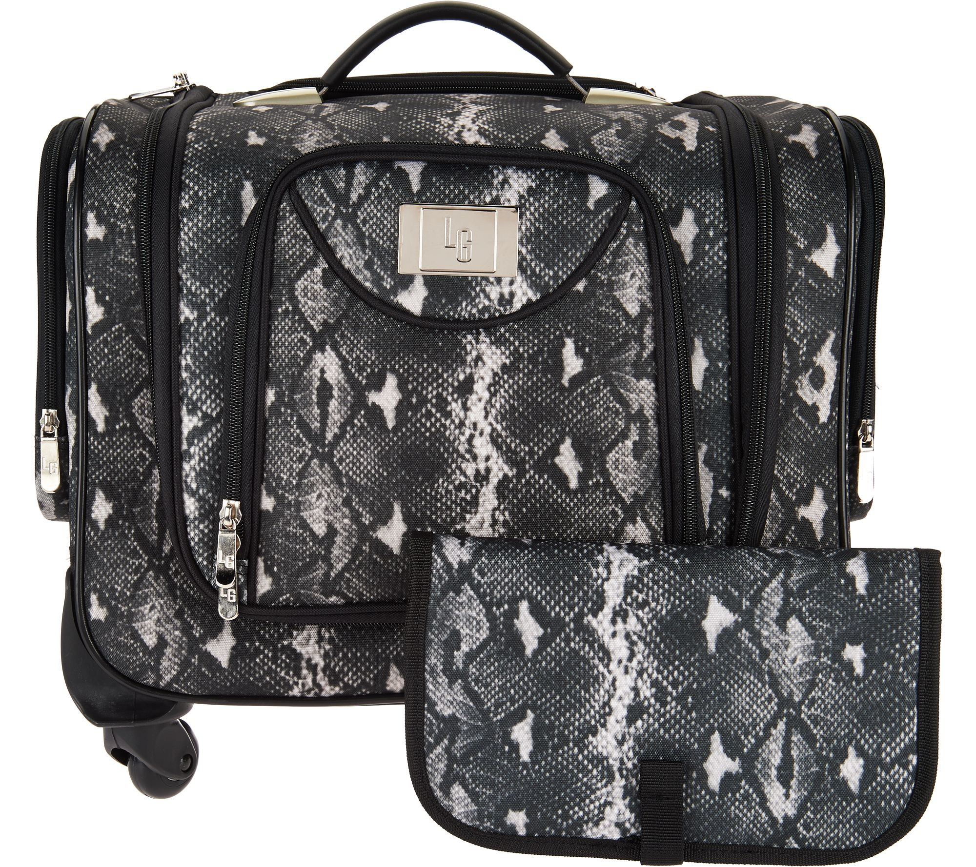 Weekender Bag with SnapIn Toiletry Case by Lori Greiner Page 1