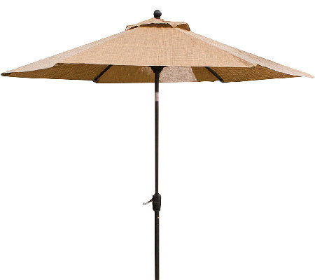 Hanover Monaco 9' Tilting Umbrella